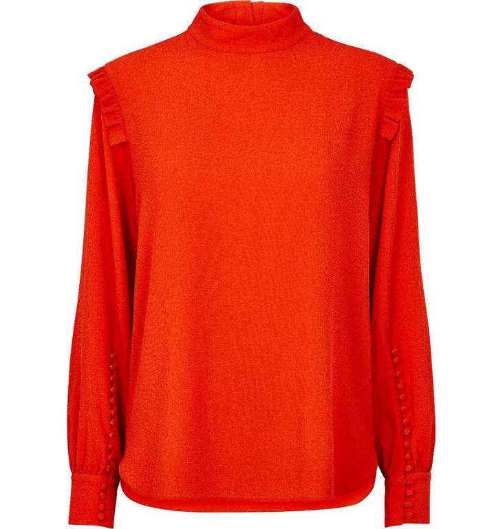 Second Female Red Kruse Blouse 51163