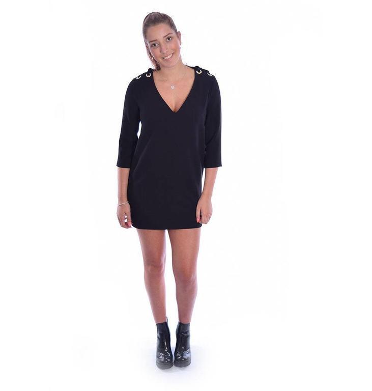 ba&sh Black Robe Maika 1E18MAIK