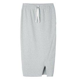 10Days Light Grey Melee Asymmetrical Skirt 20.106.8101