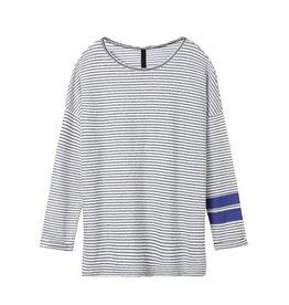 10Days Ecru/Black Longsleeve French Stripe 20.781.8101