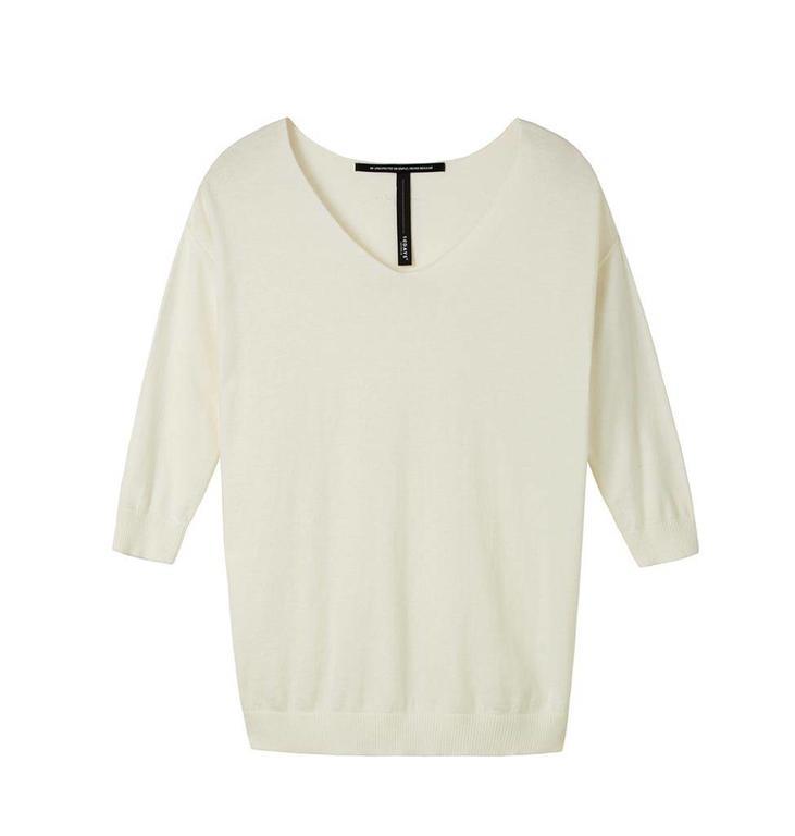 10Days White Wool Sweater 20.608.8101