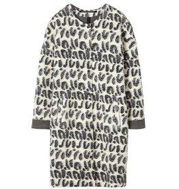 10Days White Wool Leopard Jacket 20.573.8101