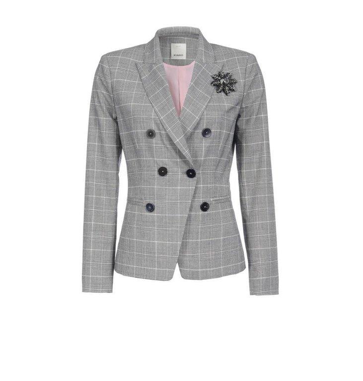 Pinko Grey Blazer Imbiancare