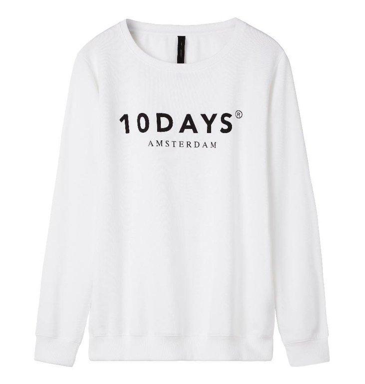 10Days White Oversized unisex sweater 21.800.9900