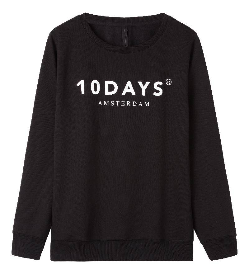 10Days Black Oversized unisex sweater 21.800.9900