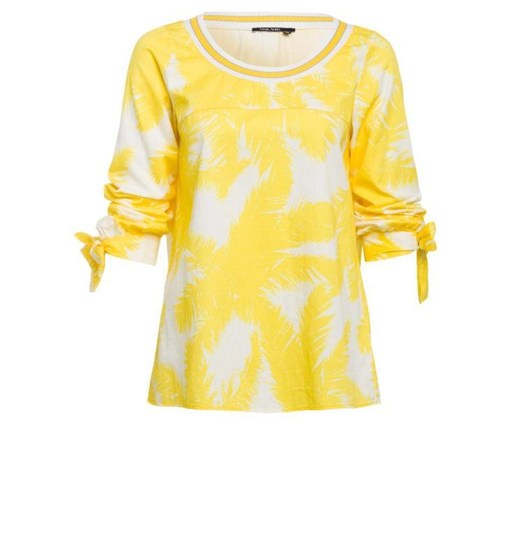 Marc Aurel White/Yellow Blouse 6096