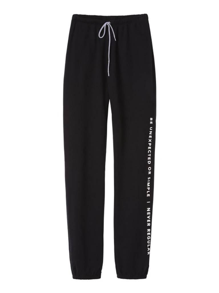 10Days Black Oversized jogger unisex 21.005.9900