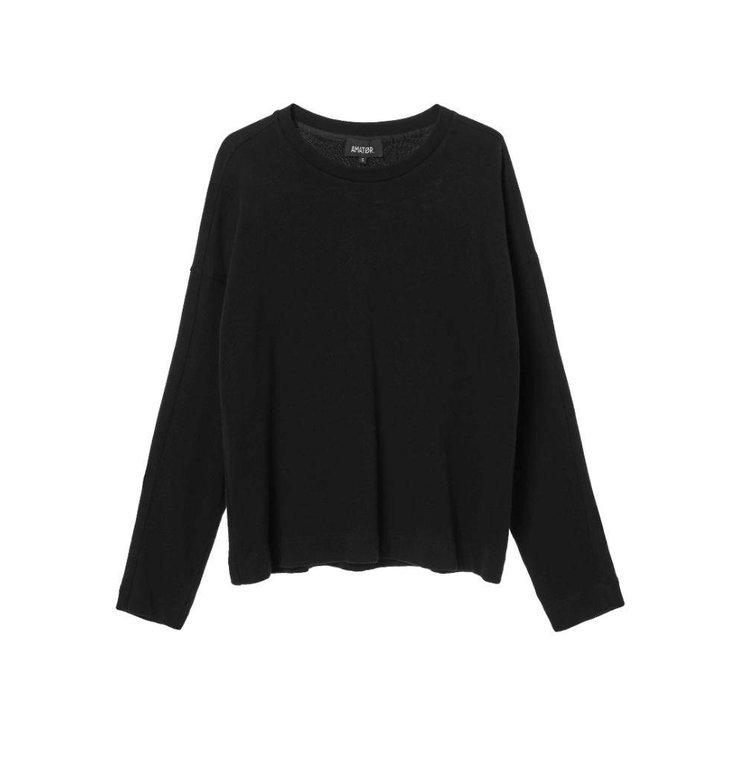 Amator Black Sweater Bibi Sweater