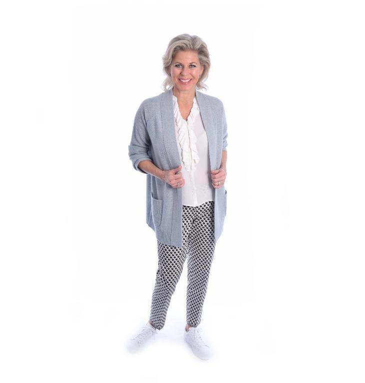 Repeat Grey Cardigan 100146