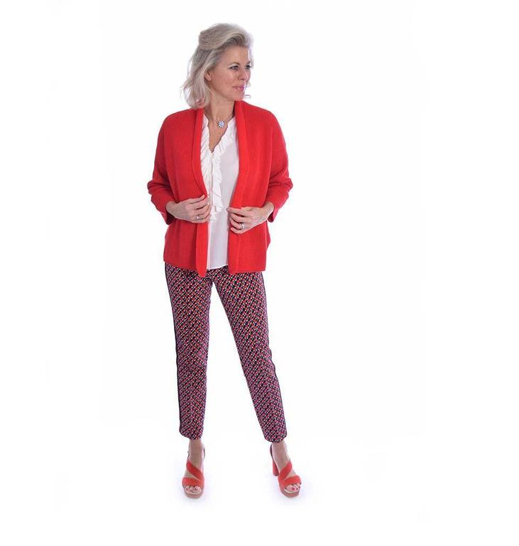 Repeat Red Cardigan 400061