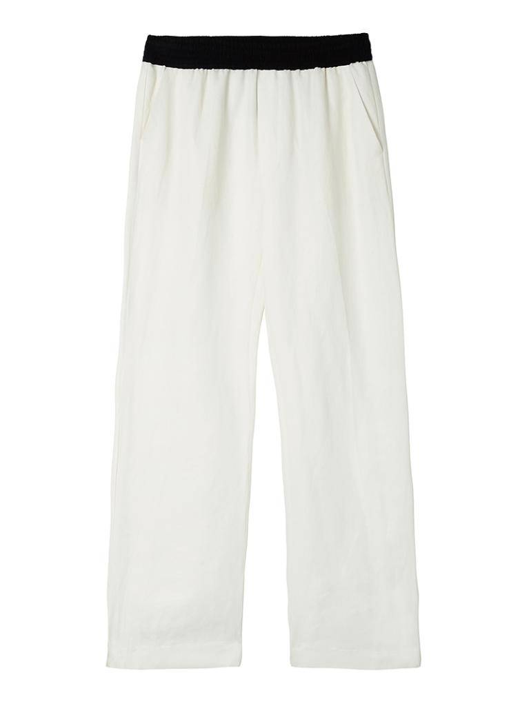 10Days Ecru Wide Leg Pants 20.048.8101