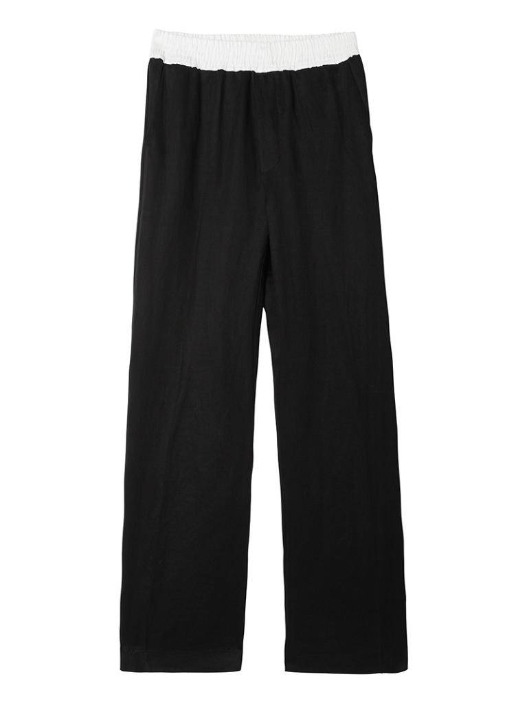10Days Black Wide Leg Pants 20.048.8101