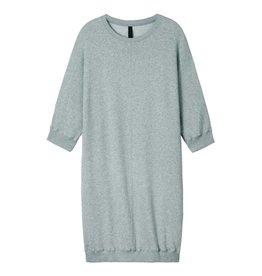 10Days Light Grey Melee Sweatdress 20.336.8101