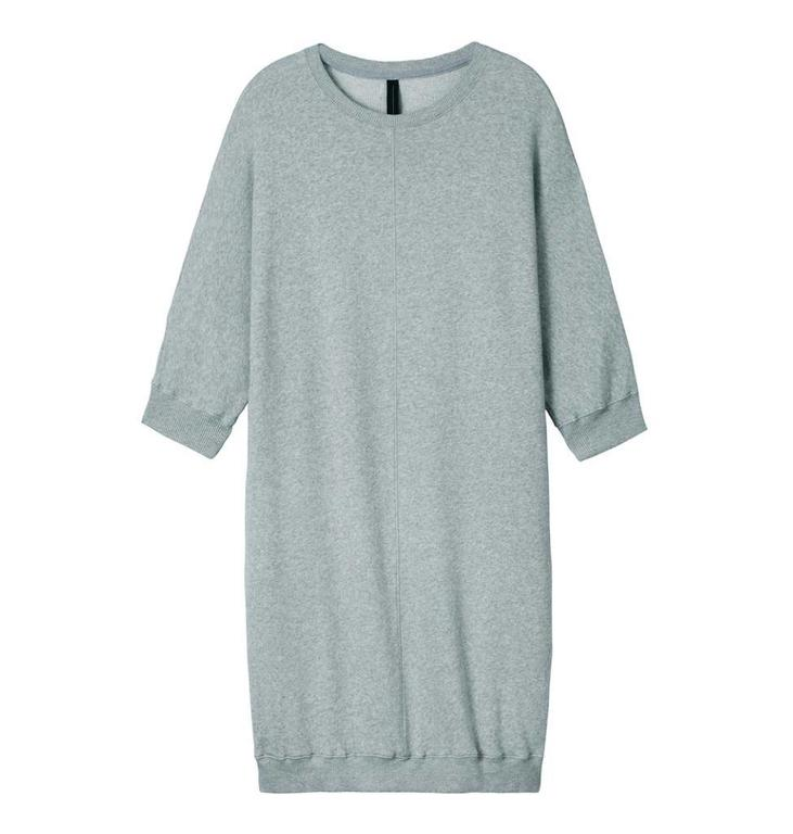 10Days Light Grey Melee Sweatdress 20.336.8101