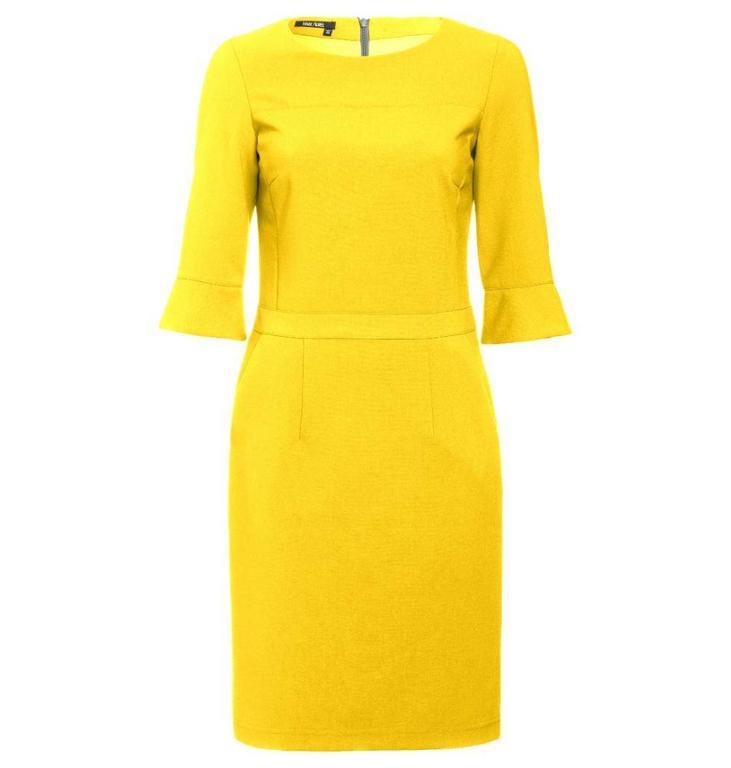 Marc Aurel Yellow Dress 6922