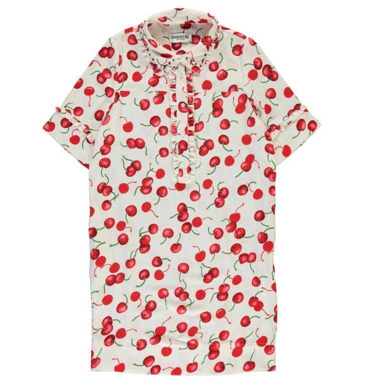 Essentiel Multicolour Cherry Dress Psloveyou
