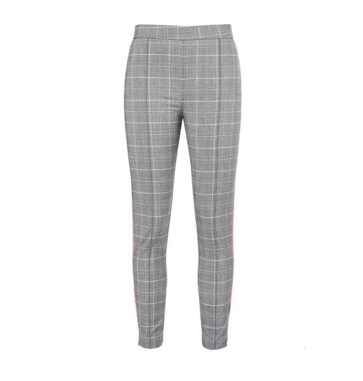 Pinko Grey Pantalon Filettare