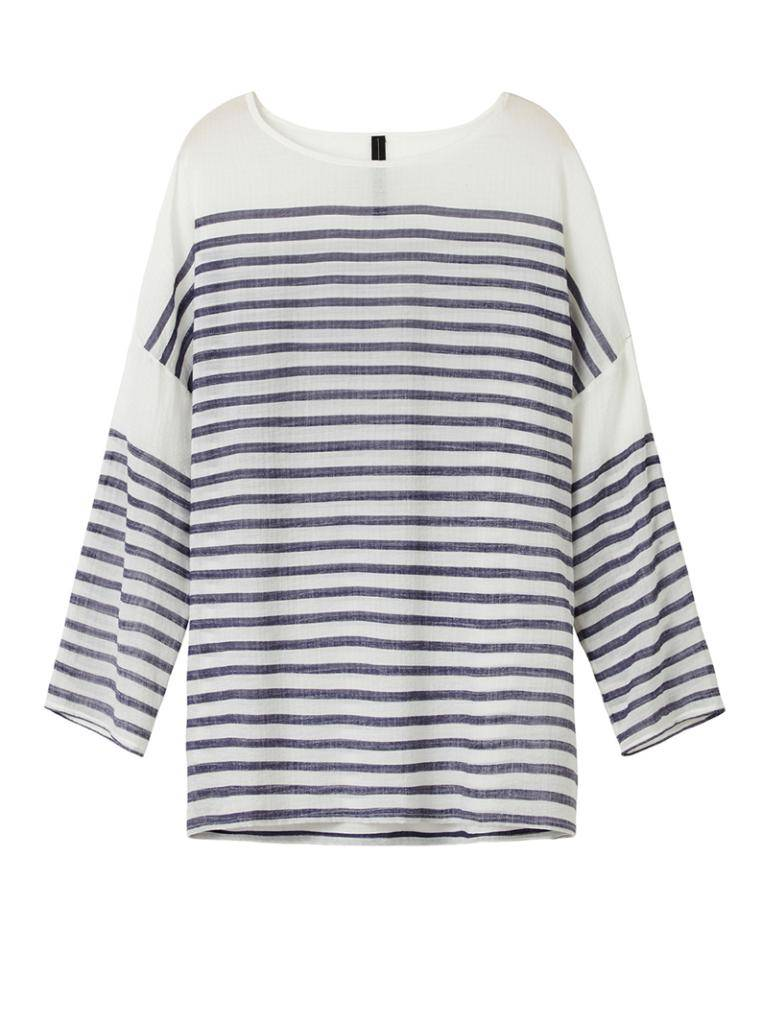 10Days White Woven Shirt 20.414.8101