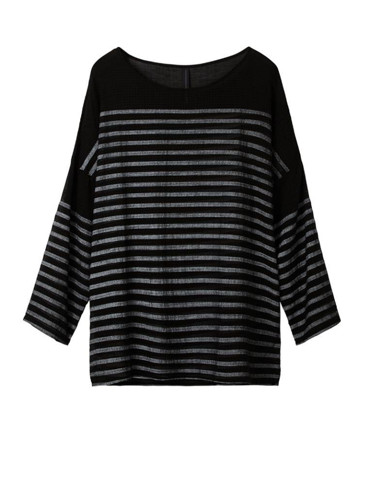 10Days Black Woven Shirt 20.414.8101