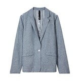 10Days Ecru /Sky Blue Blazer 20.509.8101