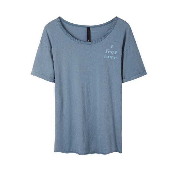10Days Blue Shortsleeve Tee 20.752.8101