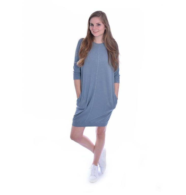 10Days Blue Sweatdress 20.336.8101