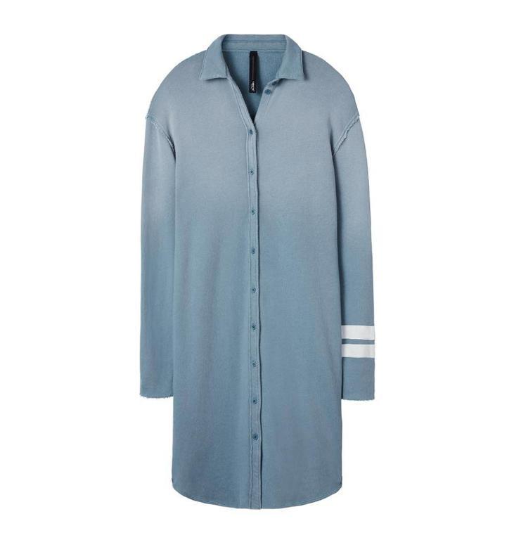 10Days Blue Long Shirt Dress 20.342.8101