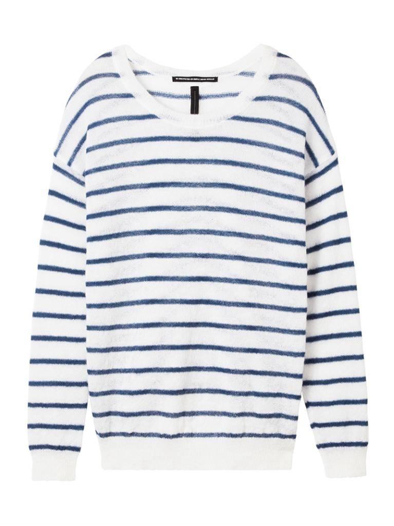 10Days Ecru /Blue Sweater Stripe 20.604.8101