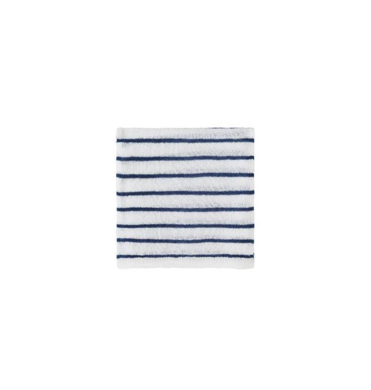 10Days Ecru /Blue Scarf Stripe 20.694.8101