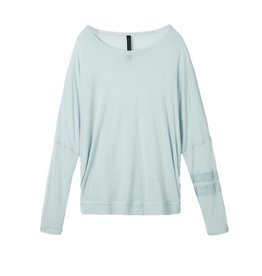 10Days Sky Blue Oversized Longsleeve Tee 20.780.8101
