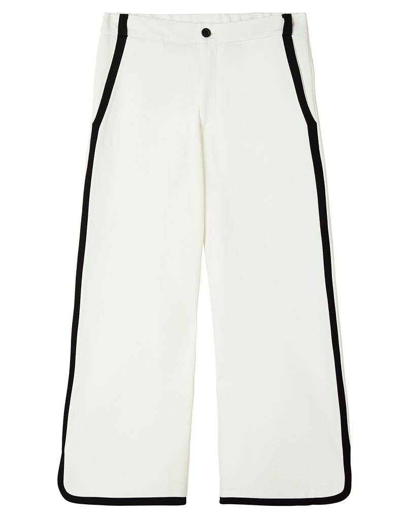 10Days Ecru Contrast Pants 20.040.8101