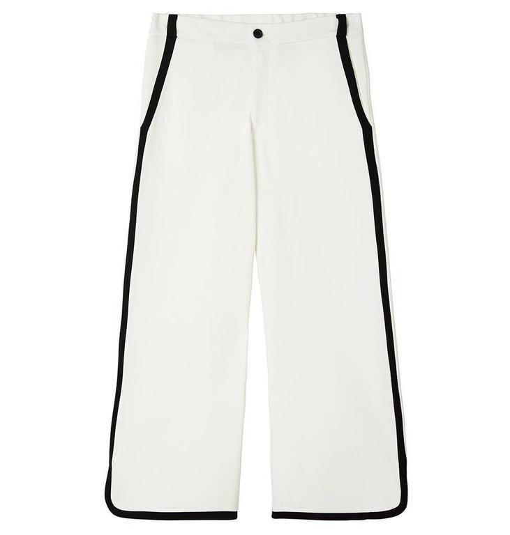 10Days Ecru Contrast Pants 20.040.8101