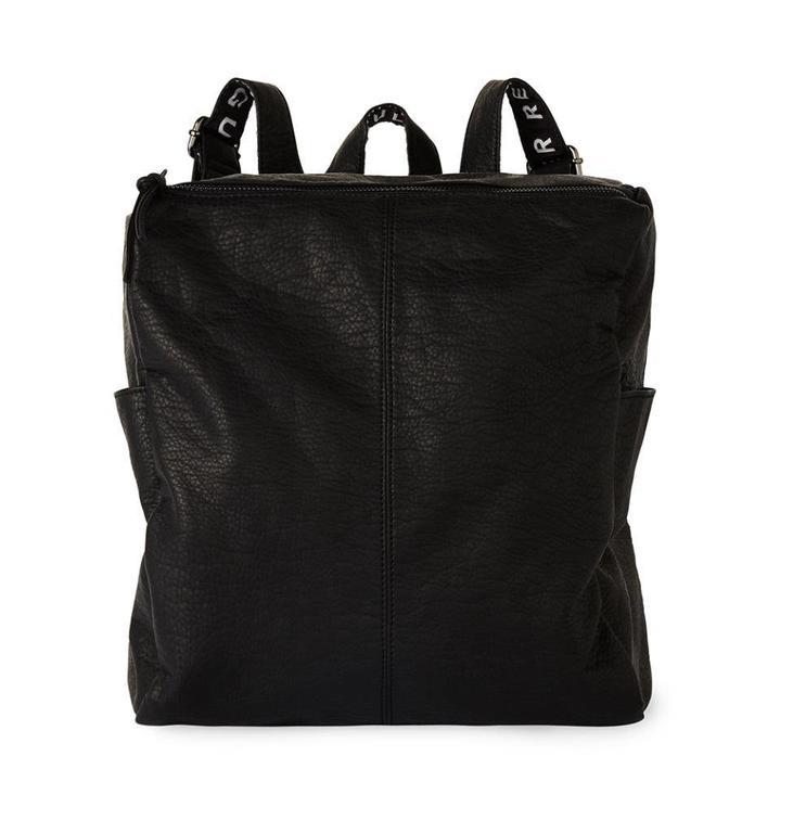 10Days Black Backpack 20.961.8101