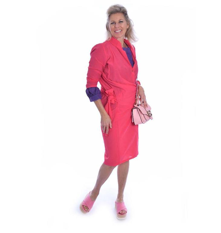 Humanoid Pink Dress Reesa