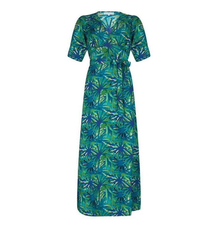 Fabienne Chapot Green Island Dress #CLT37DRS