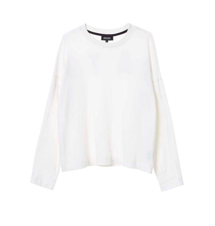 Amator Soft White Sweater Bibi Sweater
