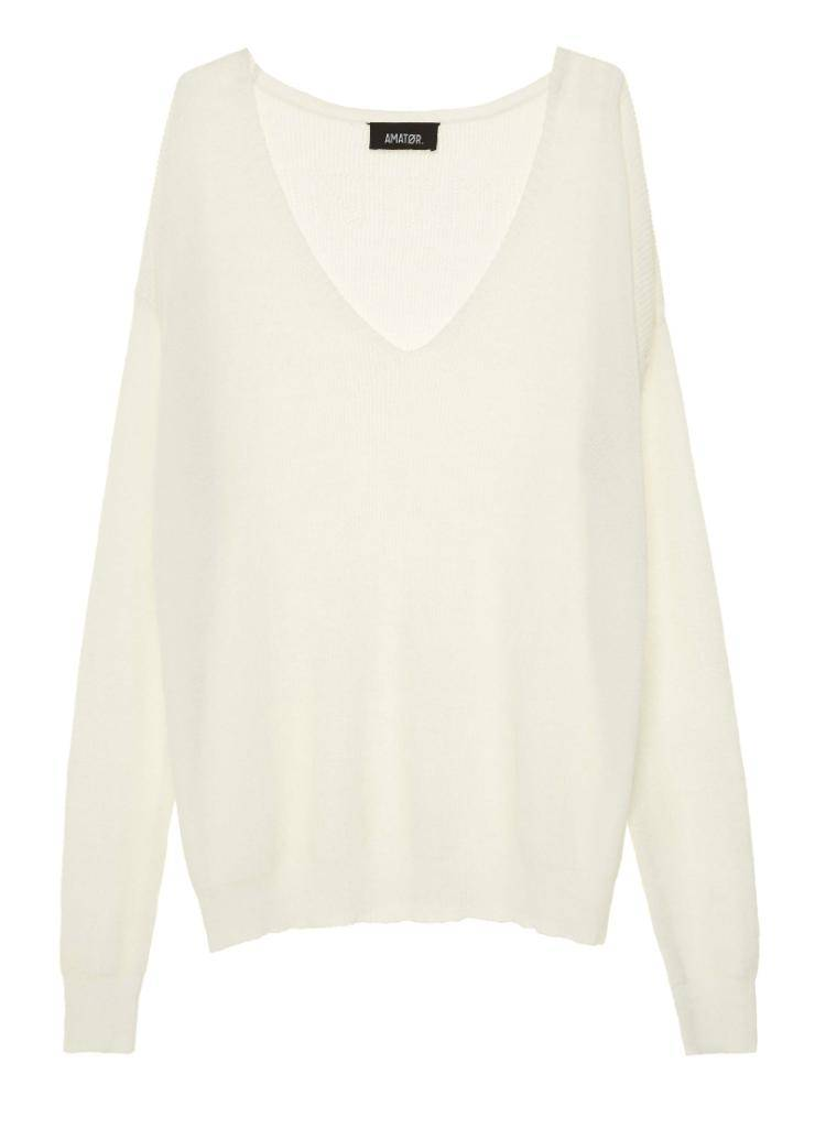 Amator Soft White Pullover Marco