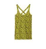 10Days Yellow Yoga Wrapper Leopard 20.732.8101