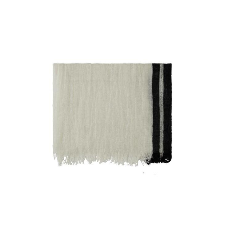 10Days Ecru Stripe Scarf 20.909.8101