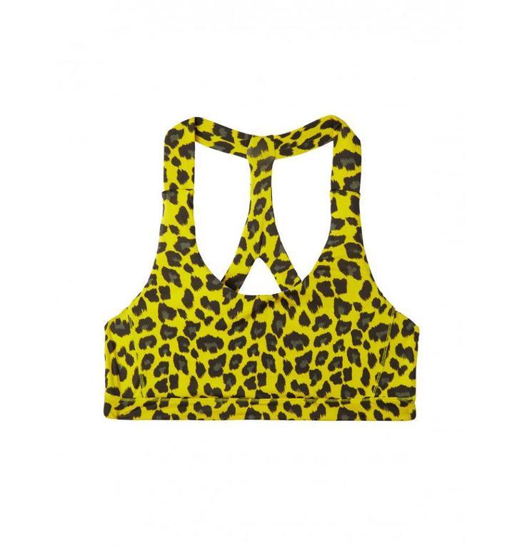 10Days Yellow Yoga Bra Leopard 20.973.8101