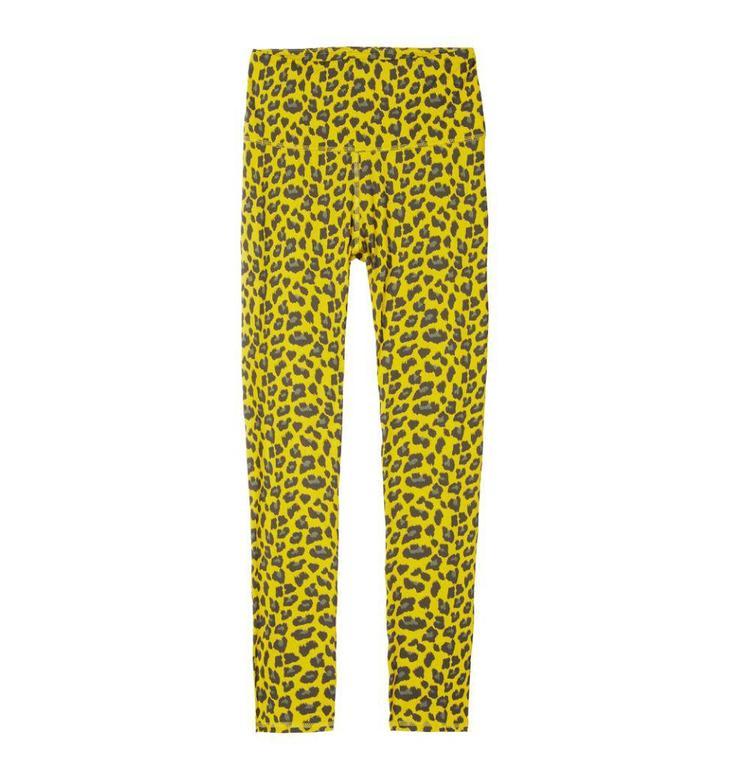 10Days Yellow Yoga Legging Leopard 20.027.8101