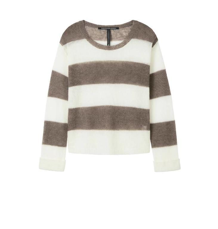 10Days Ecru /Light Brown Sweater Stripe 20.613.8101