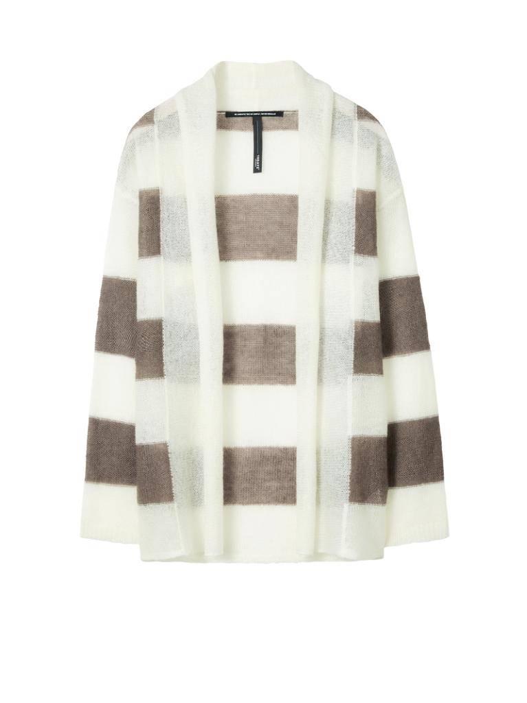 10Days Ecru /Light Brown Cardigan Stripe 20.652.8101