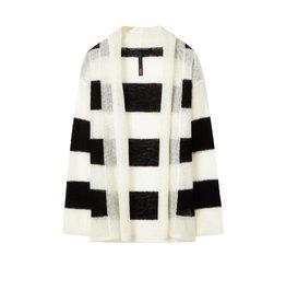 10Days Black/White Cardigan Stripe 20.652.8101