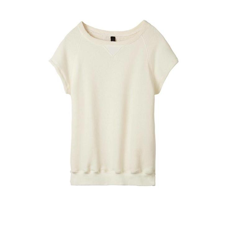 10Days White Wool Sleeveless Sweater 20.810.8101