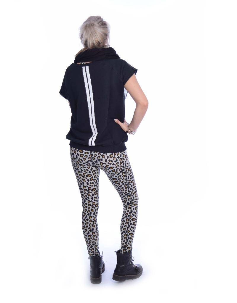 10Days Black Sleeveless Sweater 20.810.8101