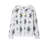 10Days White Sweater Big Flower 20.825.8101