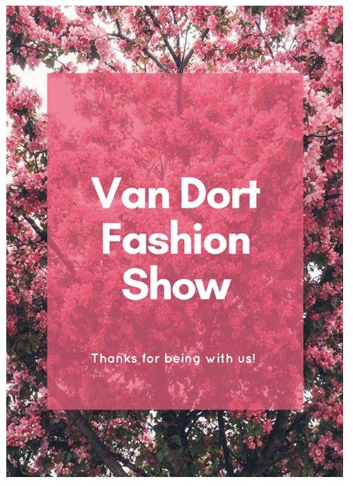 Van Dort Fashion Show