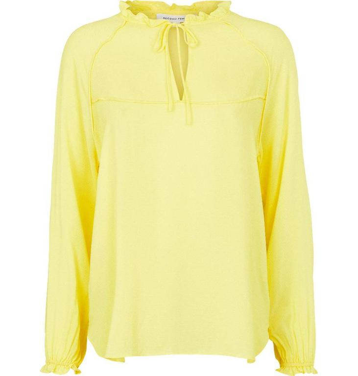Second Female Yellow Kanya Blouse 51165