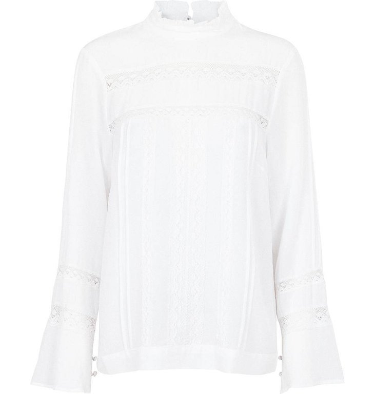 Second Female White Skyline Blouse 51115